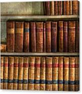 Lawyer - Books - Law Books  Canvas Print