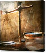 Lawyer - Scale - Balanced Law Canvas Print