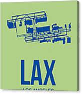 Lax Airport Poster 1 Canvas Print