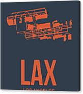 Lax Airport Poster 3 Canvas Print