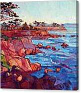 Layers Of Monterey Canvas Print