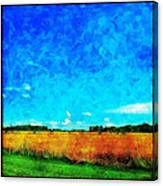 Lazy Clouds In The Summer Sun Canvas Print