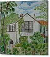 L.b. Clegg House In San Antonio Canvas Print