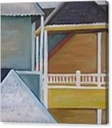 Lbi Rooftops Canvas Print