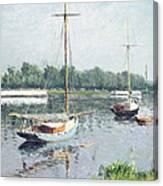 Le Bassin D'argenteuil Canvas Print