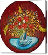 Le Bouquet Rouge - Original For Sale Canvas Print