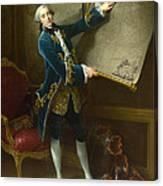 Le Comte De Vaudreuil Canvas Print