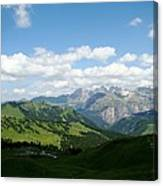 Le Dolomiti Canvas Print