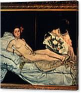 Le Grande Odalisque By Ingre Canvas Print