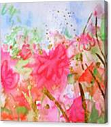Le Jardin Canvas Print