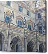 Le Louvre IIi Canvas Print