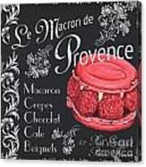 Le Macron De Provence Canvas Print