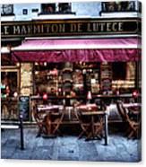 Le Marmiton De Lutece Paris France Canvas Print