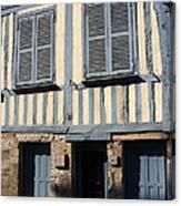 Le Mason Bleue Canvas Print
