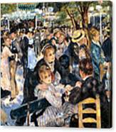 Le Moulin De La Galette Canvas Print