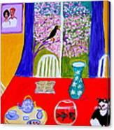 Le  Poisson Rouge Canvas Print