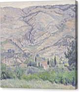 Le Ragas, Near Toulon, 1930 Canvas Print