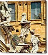 Le Statue Canvas Print