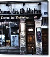Le Taveau Des Oubliettes Paris France Canvas Print