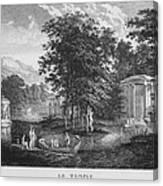 Le Temple Canvas Print