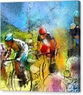 Le Tour De France 01 Canvas Print