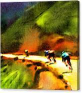 Le Tour De France 02 Canvas Print