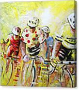 Le Tour De France 07 Acrylics Canvas Print