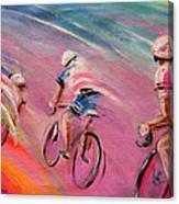 Le Tour De France 16 Acrylics Canvas Print