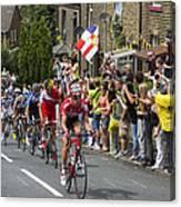 Le Tour De France 2014 - 4 Canvas Print