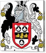 Leader Coat Of Arms Irish Canvas Print
