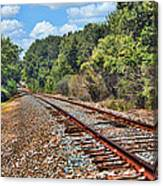 Leading To The Future Canvas Print