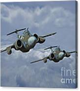 'leads The Field' Canvas Print