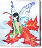 Leaf Fairy Canvas Print