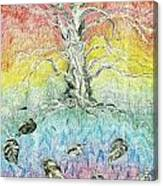 Leaf Fall Canvas Print