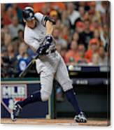 League Championship Series - New York Yankees v Houston Astros - Game Seven Canvas Print