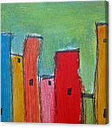 Leaning Towers Canvas Print