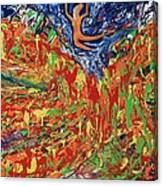 Leap Of Faith Canvas Print