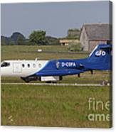 Learjet Used For Simulating Enemy Canvas Print