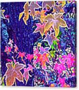 Leaves 1 Canvas Print