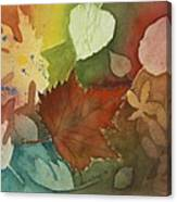 Leaves Vl Canvas Print