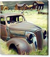 Leaving Bodie Canvas Print