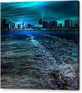 Leaving Long Beach Canvas Print