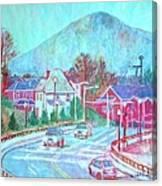 Leaving Roanoke Canvas Print