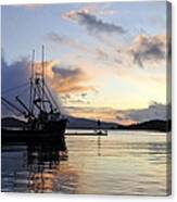 Leaving Safe Harbor Canvas Print