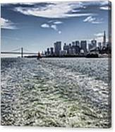 Leaving San Francisco Canvas Print