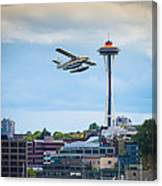 Leaving Seattle Canvas Print