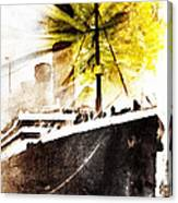 Leaving Ship Canvas Print