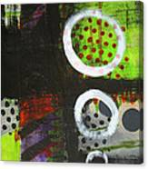 Leaving The Dark Abstract  Canvas Print