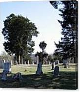 Lebanon Cemetery Oklahoma Canvas Print