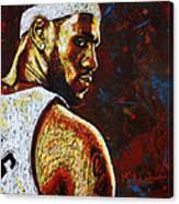 Lebron  Canvas Print